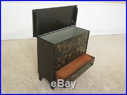 31208EC Pennsylvania Dutch Folk Art Paint Decorated Blanket Box