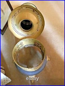 Antique Folk Art Painted Perfection #525 Kerosene/Oil Heater Primitive Table