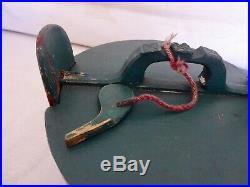Antique Scandinavian Norwegian Folk Art Hand Painted Staved Grotambar Box