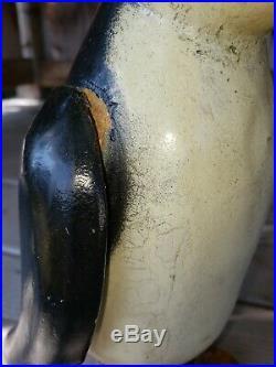 Antique Wooden Folk Art Carved and Painted Penguin primitive 10