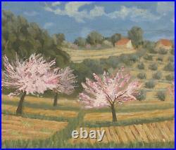 Barbara Doyle (b. 1917) Contemporary Oil, Blossom In The Fields