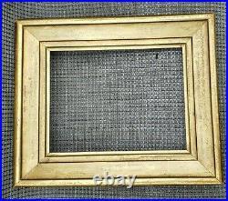 C1840 Beautiful Federal American Sully Gilded Antique Portrait Folk 9 x 11 Frame