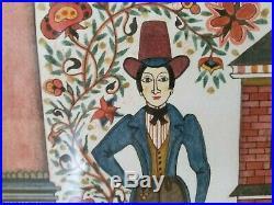 Dian Smoyer Noll Pennsylvania Fractur -exquisite hand painted folk art