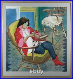 Dorothy Morton (1905-1999) Framed 20th Century Gouache, Zoe