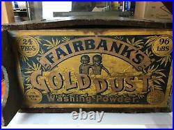 Early Folk Art Antique Cabinet Cupboard Grey Paint