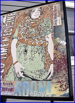 Folk Art Painting Faith Healer Snake Charmer Antique Vintage Medicine Posters