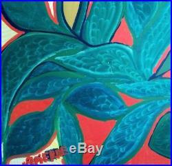 Folk Haitian Painting Famous Saint Pierre Toussaint Haiti Art Brut Naif 12x24