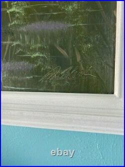 Highwaymen Florida Painting Al Black 29 x 35 Framed