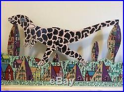 Howard Finster Folk Art Dinosaur Mountain cut out 3 Day offer
