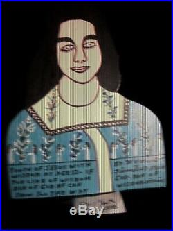 Howard Finster folk art outsider Youth of Jesus Cut Out 1991