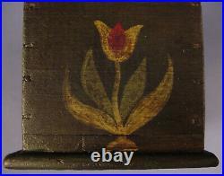 Jacob Weber Miniature Paint Decorated Trinket Box Lancaster County PA Folk Art