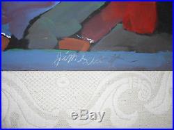 Jimmy Lee Sudduth Folk Art Painting Alabama 1998
