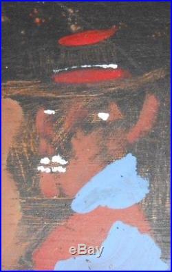 Jimmy Lee Sudduth Folk Art Painting Alabama 1998 Jimmy Painting Cabin