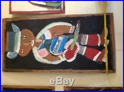 Jimmy Lee Sudduth Folk Art Painting collection The Reclaimed Life Coker Alabama
