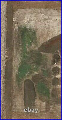Jimmy Lee Sudduth House Mud Folk Outsider Black Painting Art