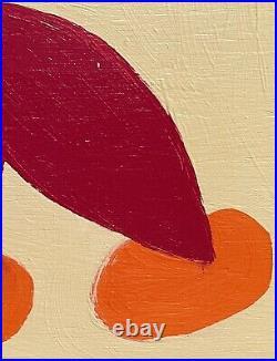 John Cornbread Anderson Original Wahoo Contemp Folk Outsider Art Painting