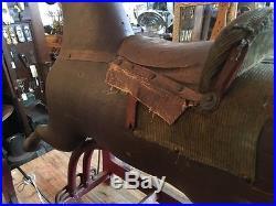 Late 1800s Whitney Reed Glider Hobby Rocking Horse Original Paint Folk Art