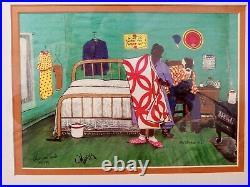 MAURICE COOK Mathew 621 Alabama 199/250 Southern Folk Art Americana 1998 SIGN