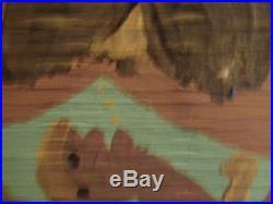 Moses Tolliver Folk Artist Rare Original Painting, Moose Lady in Love, hot art