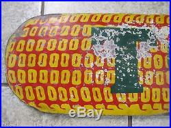 Old TODD Figural CORN Farm Seed Advertising Sign dbl sided wood paint folk art