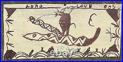 RA Miller Devil Double Headed Snake Folk Southern Georgia Outsider Art