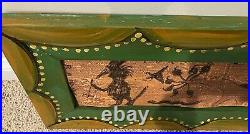 RA Miller Folk Art Tin Painting Lord Love You