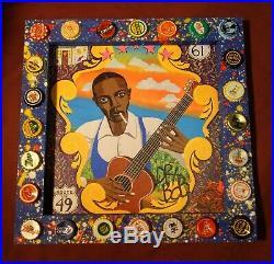 ROBERT JOHNSON Signed Giclee Print, New Orleans Louisiana Folk Art by DR. BOB