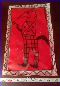 R. A. MILLER Southern Folk Art Painting LOT Outsider BLOW OSKAR Vintage SIGNED