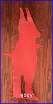 R. A. Miller Devil Tin Outsider Folk Art