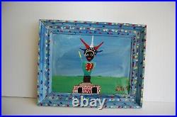 Sam The Dot Man McMillan African American folk art Big Apple painting deceased