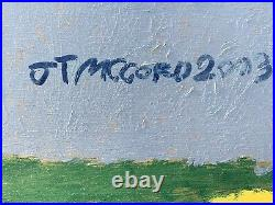 Thomson Georgia African American Oustider Artist Jake JT McCord Figural Painting