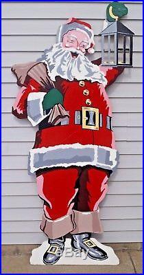 Folk Art Santa Paintings